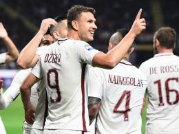 Doppelter Dzeko leitet Roma-Sieg in Mailand ein