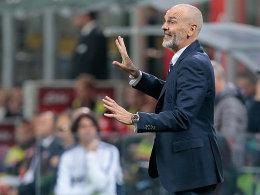 Inter Mailand setzt Pioli vor die Tür