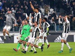 Juventus Turin: Schritt eins zum Triple - Totti-Theater