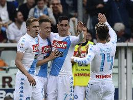 Vor Topspiel: Napoli legt eindrucksvoll vor