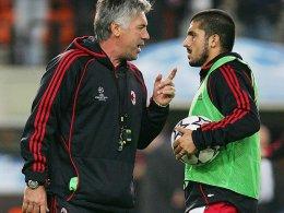 Gattuso vor Treffen mit Ancelotti: