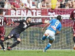 Napoli feiert Insigne - Ganz später Schock für Milan!