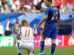 Totti: Nedved war