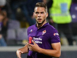 Kellerkind Frosinone gegen Fiorentina
