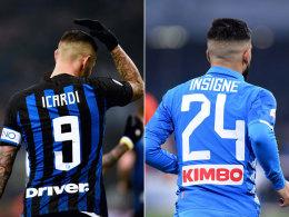 Festtagskracher in San Siro: Inter empfängt Napoli