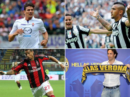 Ehemalige Bundesligaspieler, die aktuell in der italienischen Serie A spielen.