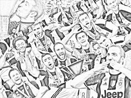 Zahlen der meisterlichen Juve-Saison: 6, 33, 52, 542