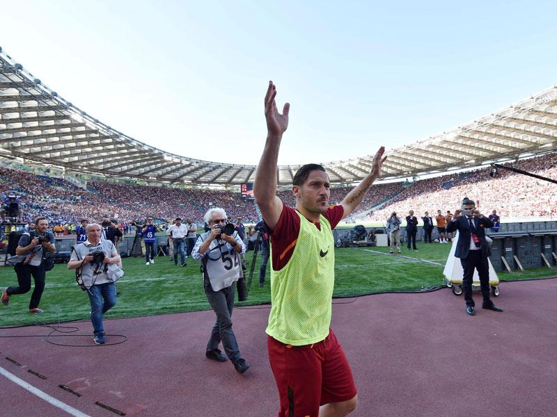 Rom im Zeichen eines Mannes: Francesco Totti