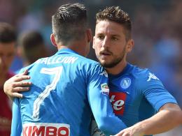 LIVE! Napoli vs. Inter - Weiße Westen unter sich