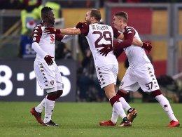Pech gehabt: Roma scheitert an Torino!