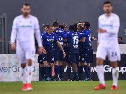 Dank Lulic: Lazio zieht ins Coppa-Halbfinale ein