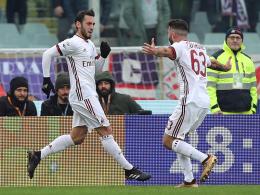 Calhanoglu trifft - aber Milan spielt nur remis