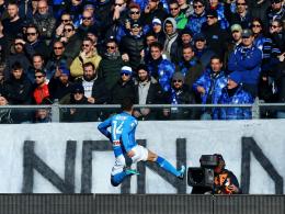 Dank Mertens' Kracher: Napoli siegt in Bergamo