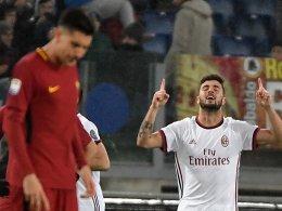 Milans Nummer 12: Cutrone knackt Rom