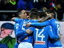Eindrucksvoll: Napoli fertigt Cagliari mit 5:0 ab