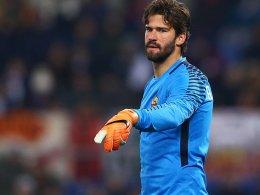 Alisson hext erneut - und die Roma dreht auf
