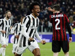 3:1 gegen Milan: Juve baut Tabellenführung aus