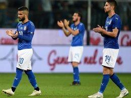 Italien strauchelt auch im Regen von Genua