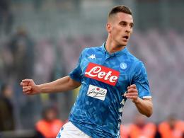 Dank Milik: Last-Minute-Sieg für Napoli