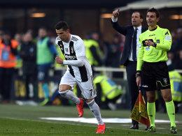 CR7 bewahrt Juve vor Niederlage