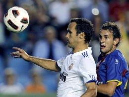 Reals Ricardo Carvalho gegen Levantes Christian Stuani