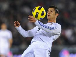 Eingebaute Torgarantie: Cristiano Ronaldo erzielte drei Tore für Real Madrid gegen Villarreal.