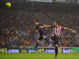 Cesc Fabregas gegen Fernando Amorebieta