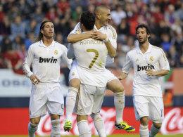 Real Madrid jubelt mit Cristiano Ronaldo