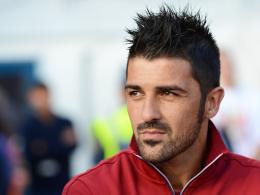 Comeback nach acht Monaten Pause: Barcelonas Angreifer David Villa.