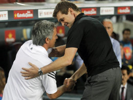 José Mourinho und Tito Vilanova