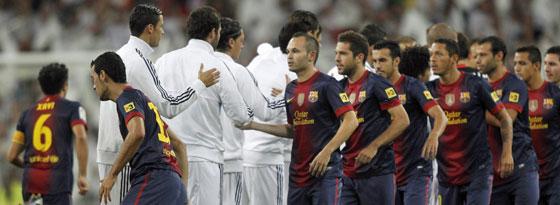 Duell der Giganten: Real Madrid muss diesmal ins Camp Nou reisen.
