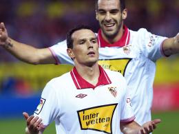 Lange Zwangspause: Für Sevillas Piotr Trochowski ist die Saison vorbei.