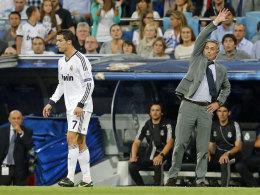 José Mourinho und Cristiano Ronaldo
