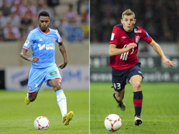 Einer für die linke Abwehrseite, einer für das Mittelfeld: Lucas Digne (re.) und Nicolas Nkoulou.
