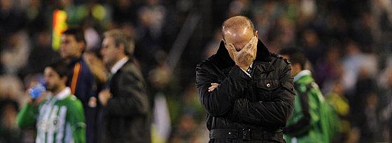 Betis-Trainer Pepe Mel.