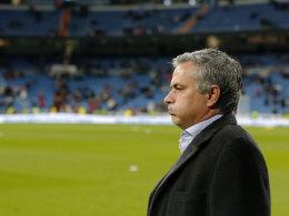 José Mourinho vor dem Derby gegen Atletico