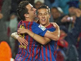 Xavi und Tello