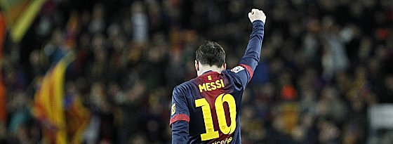 Weltfußballer: Lionel Messi bleibt dem FC Barcelona erhalten.