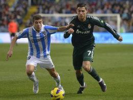 Francisco Portillo (li.) und Cristiano Ronaldo