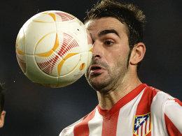 Machte den Siegtreffer gegen Vigo: Atleticos Adrian.