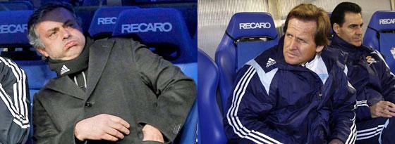 José Mourinho und Bernd Schuster