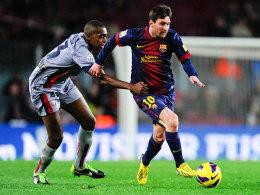 Lionel Messi, gehalten von Raoul Loe