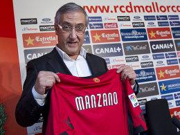 """Mallorcas Hoffnungsträger: Gregorio Manzano ist wieder """"zu Hause""""."""