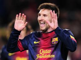 Zwei weitere Jahre in Barcelona: Lionel Messi hat bis 2018 unterschrieben.