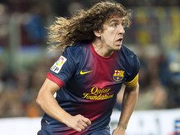 Verpasst die Duelle mit Paris St. Germain: Barcelonas Defensivspieler Carles Puyol.