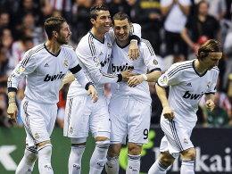 Real feiert Ronaldo