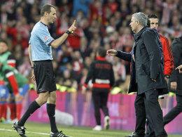 Platzverweis für Mourinho