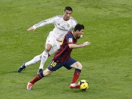 Auf sie wird es wieder ankommen: Cristiano Ronaldo und Lionel Messi.