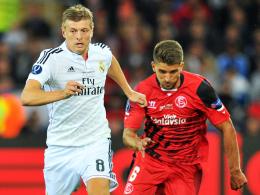 Starker Start in Madrid: Toni Kroos überzeugte beim Supercup-Sieg.