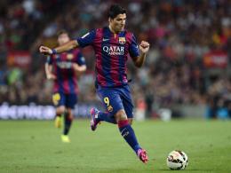 Gab sein Debüt für den FC Barcelona: Luis Suarez.